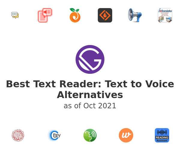 Best Text Reader: Text to Voice Alternatives