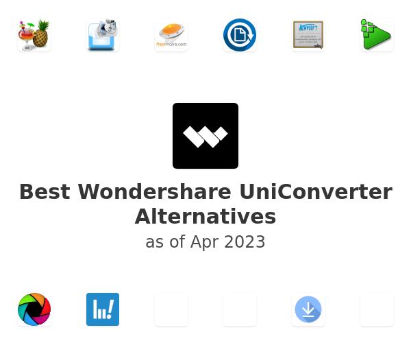 Best Wondershare UniConverter Alternatives