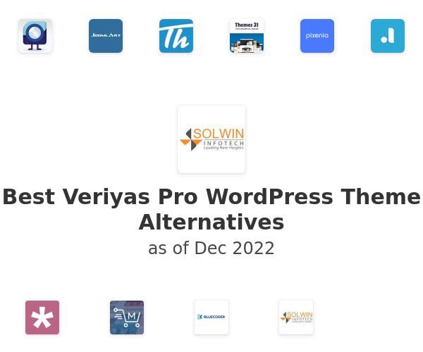 Best Veriyas Pro WordPress Theme Alternatives
