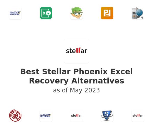 Best Stellar Phoenix Excel Recovery Alternatives