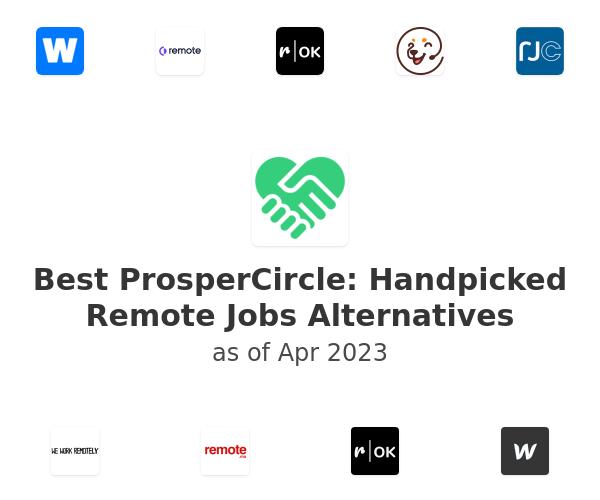 Best ProsperCircle: Handpicked Remote Jobs Alternatives