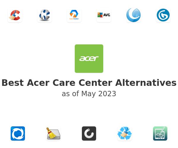 Best Acer Care Center Alternatives