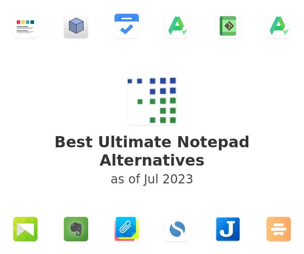 Best Ultimate Notepad Alternatives