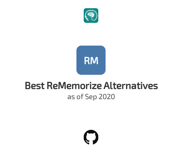 Best ReMemorize Alternatives