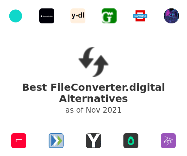 Best FileConverter.digital Alternatives