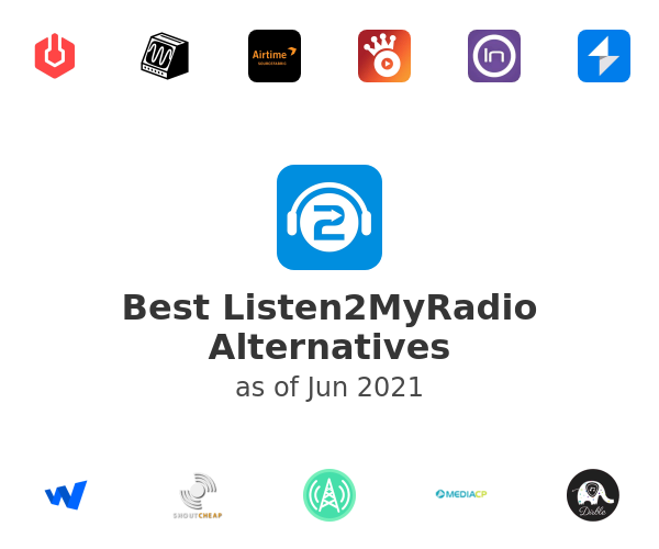 Best Listen2MyRadio Alternatives