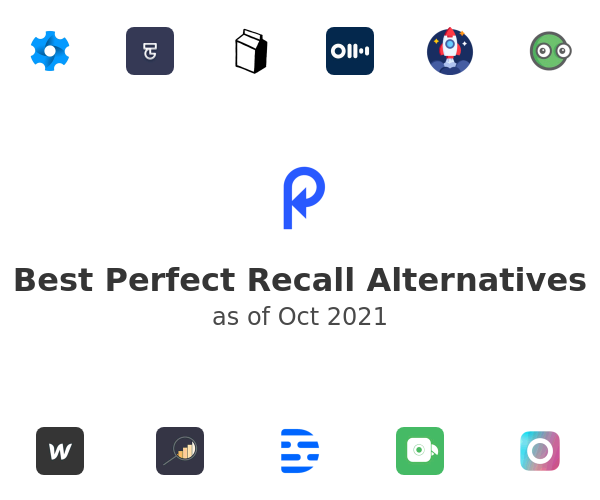 Best Perfect Recall Alternatives
