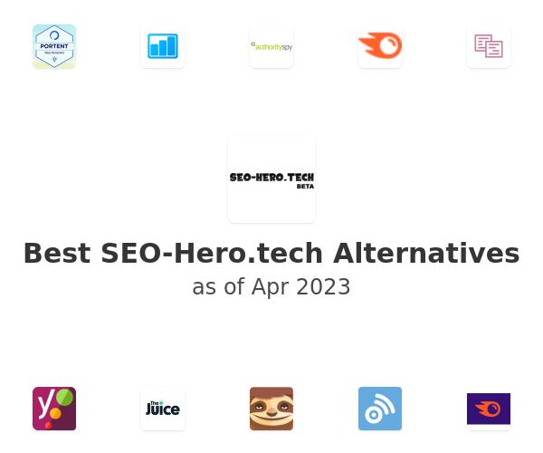 Best SEO-Hero.tech Alternatives