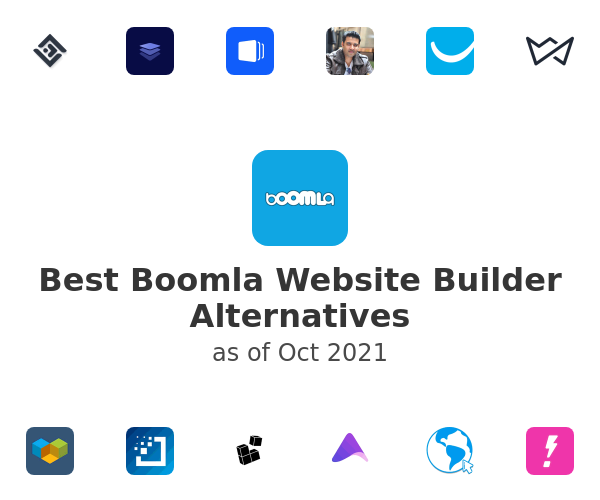 Best Boomla Website Builder Alternatives