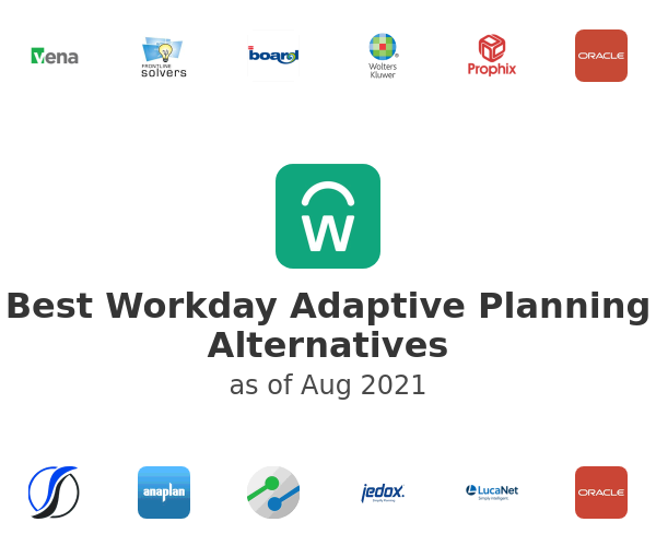 Best Workday Adaptive Planning Alternatives