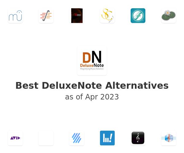 Best DeluxeNote Alternatives