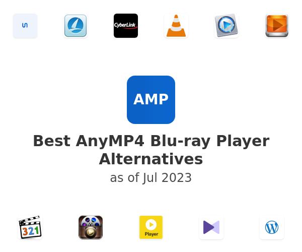 Best AnyMP4 Blu-ray Player Alternatives