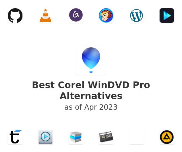 Best Corel WinDVD Pro Alternatives