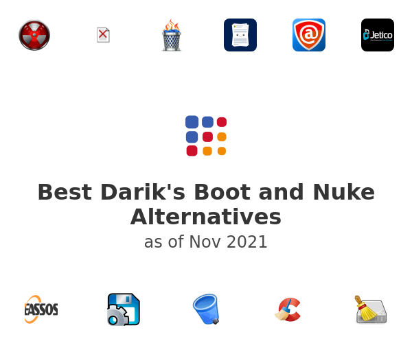 Best Darik's Boot and Nuke Alternatives