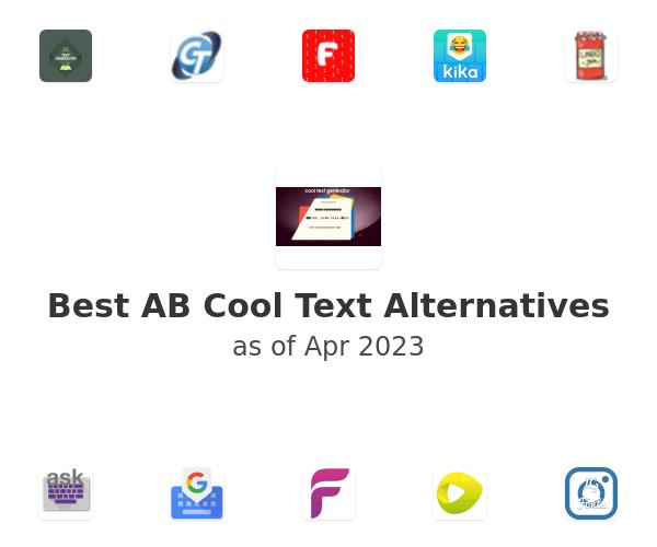 Best AB Cool Text Alternatives