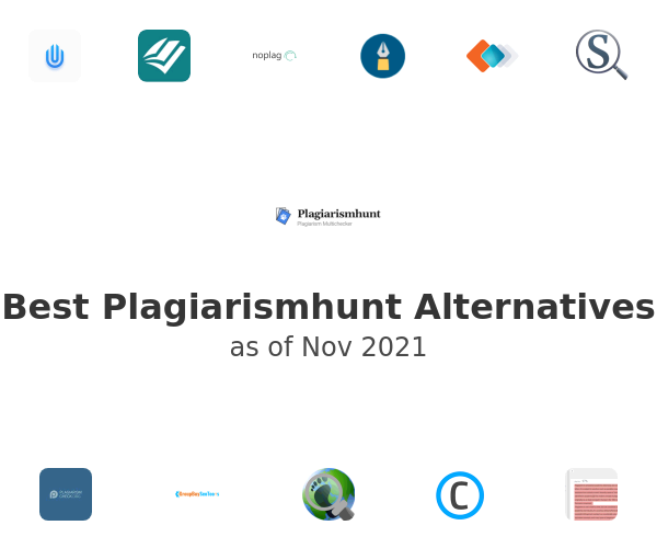 Best Plagiarismhunt Alternatives