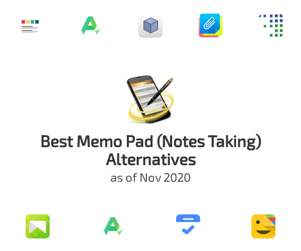Best Memo Pad (Notes Taking) Alternatives
