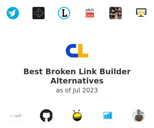 Best Broken Link Builder Alternatives