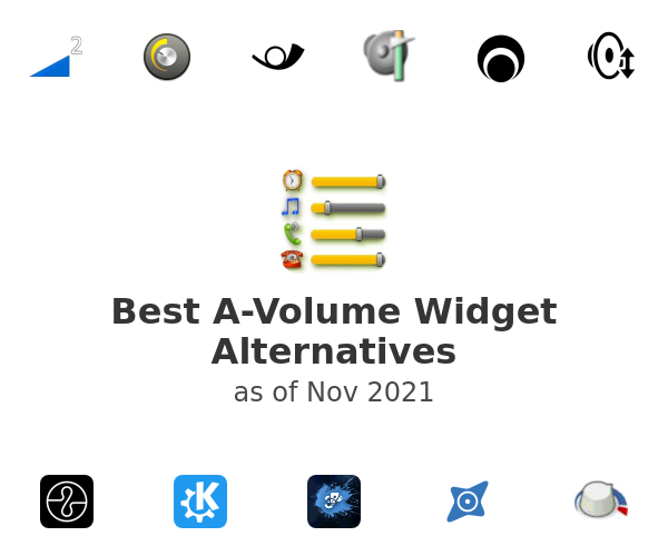 Best A-Volume Widget Alternatives