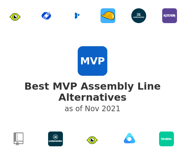 Best MVP Assembly Line Alternatives