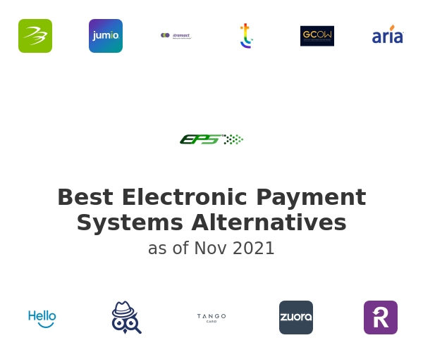 Best Electronic Payment Systems Alternatives