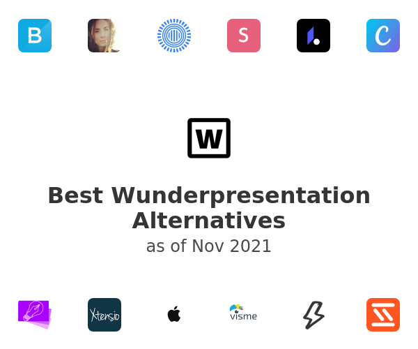 Best Wunderpresentation Alternatives