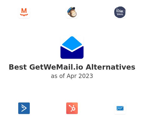 Best GetWeMail.io Alternatives