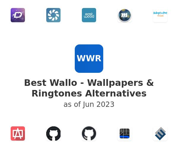 Best Wallo - Wallpapers & Ringtones Alternatives