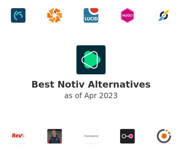 Best Notiv Alternatives