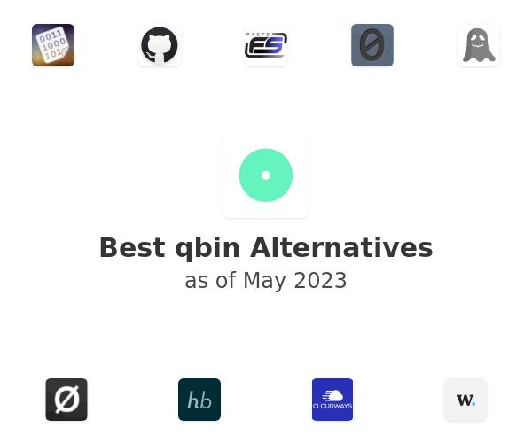 Best qbin Alternatives