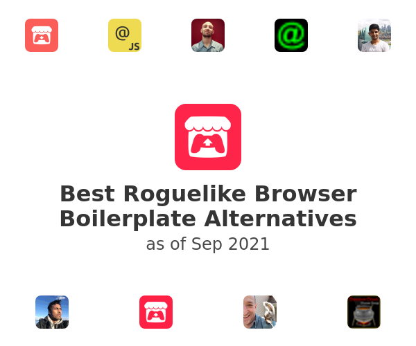 Best Roguelike Browser Boilerplate Alternatives