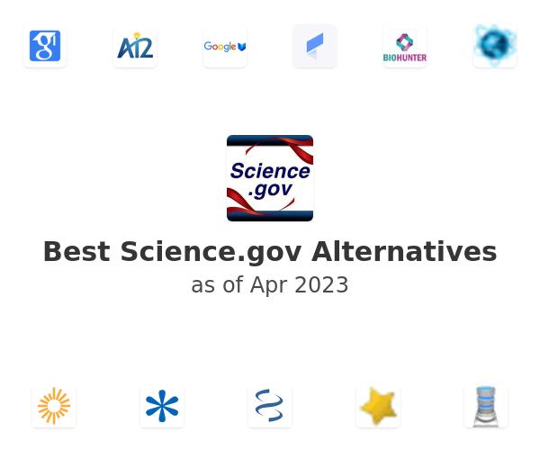 Best Science.gov Alternatives