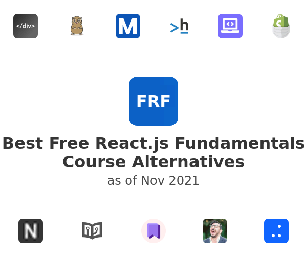 Best Free React.js Fundamentals Course Alternatives