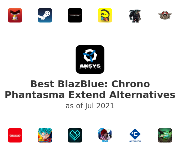Best BlazBlue: Chrono Phantasma Extend Alternatives