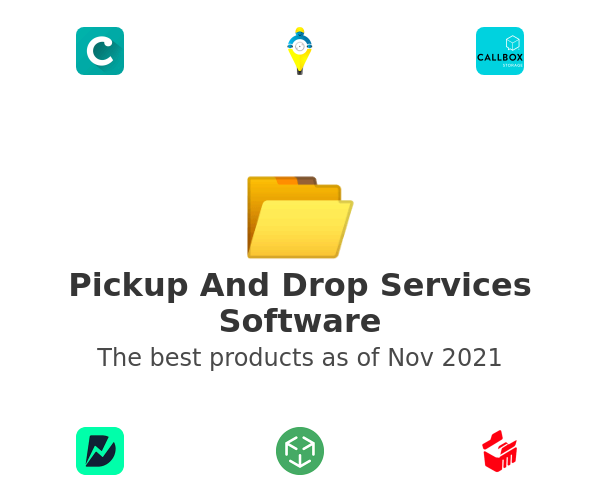 Pickup And Drop Services Software