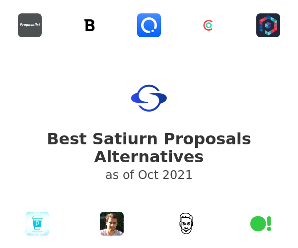 Best Satiurn Proposals Alternatives