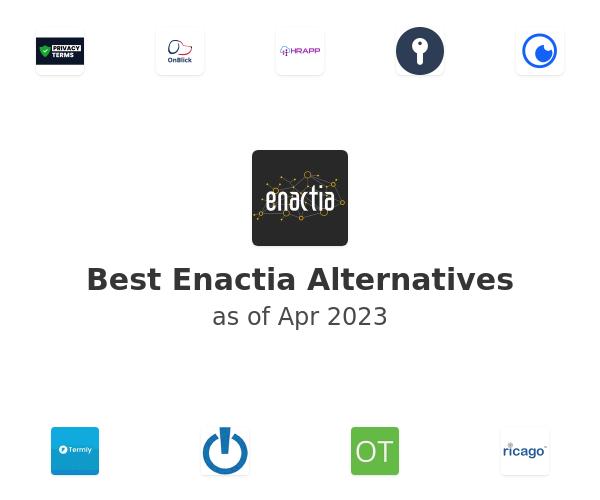 Best Enactia Alternatives