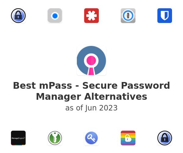 Best mPass - Secure Password Manager Alternatives