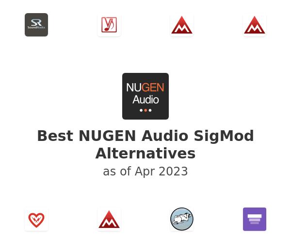 Best NUGEN Audio SigMod Alternatives