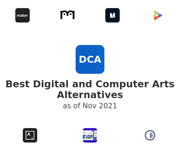 Best Digital and Computer Arts Alternatives