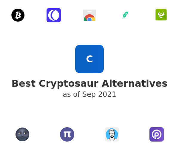 Best Cryptosaur Alternatives