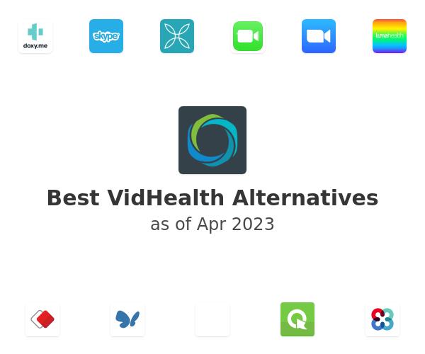 Best VidHealth Alternatives