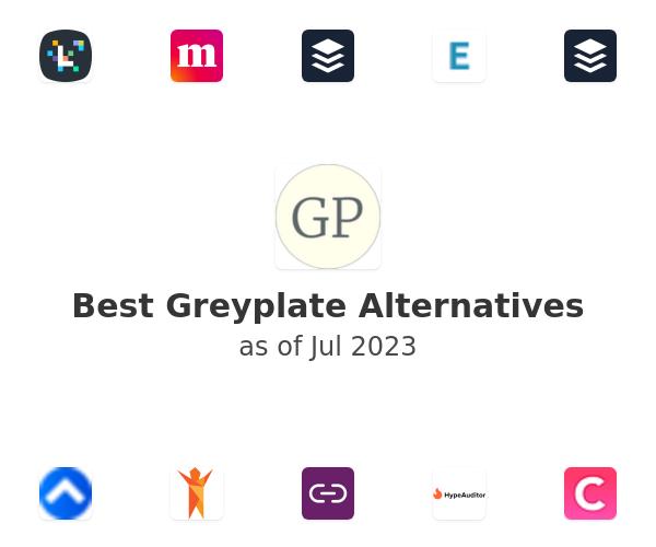 Best Greyplate Alternatives