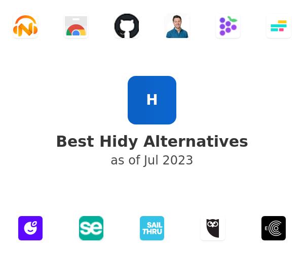 Best Hidy Alternatives