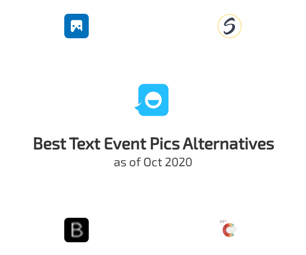 Best Text Event Pics Alternatives
