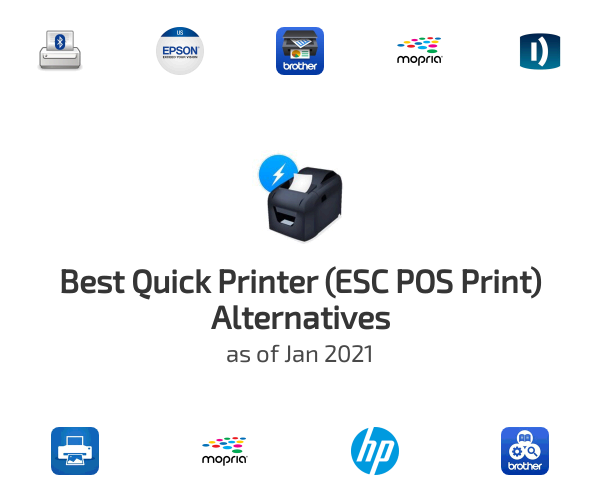 Best Quick Printer (ESC POS Print) Alternatives
