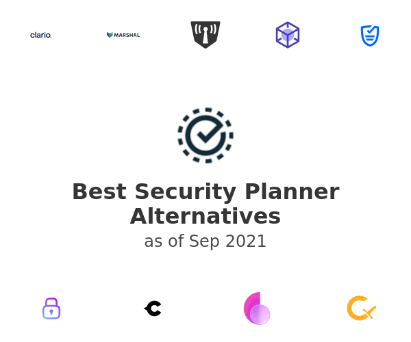 Best Security Planner Alternatives