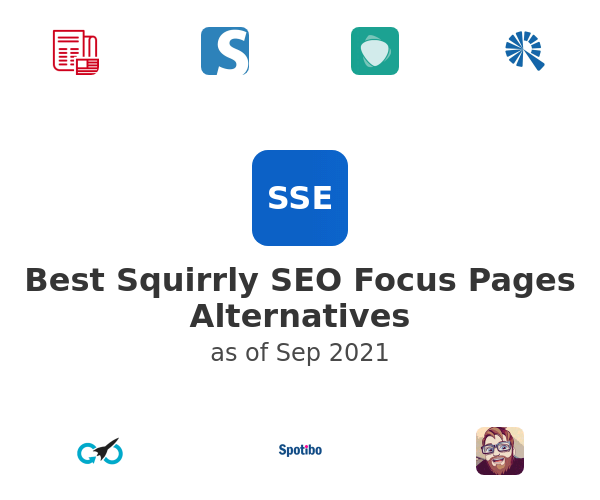 Best Squirrly SEO Focus Pages Alternatives