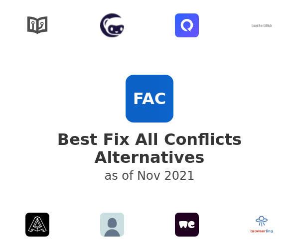 Best Fix All Conflicts Alternatives