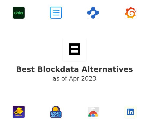 Best Blockdata Alternatives